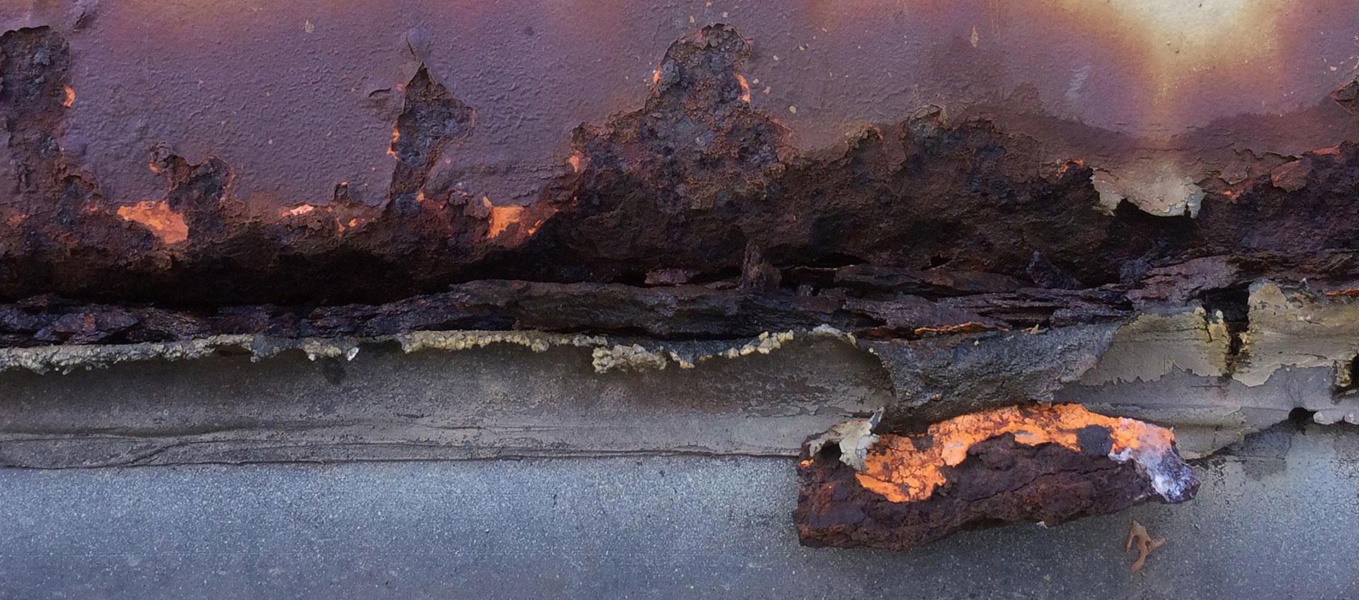 Found Landscape rust 2