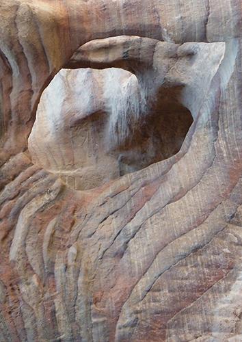 Cliff form Petra